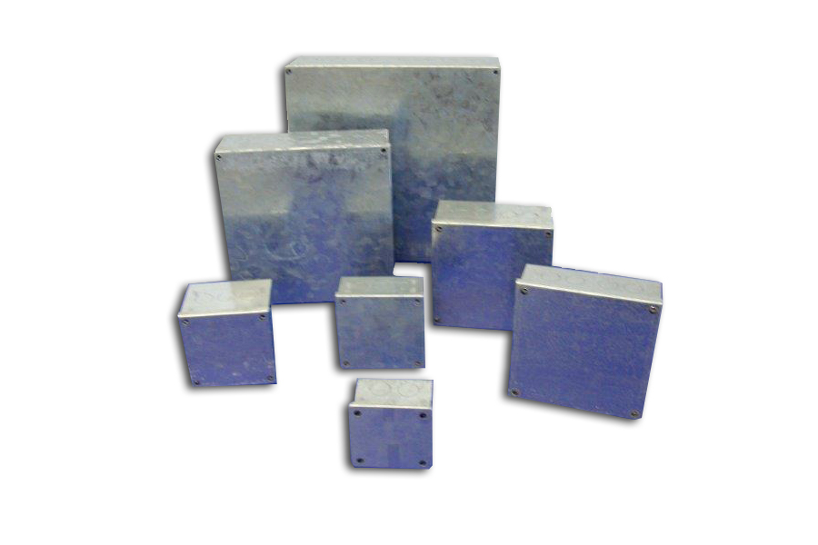 Galvanised Knockout Boxes