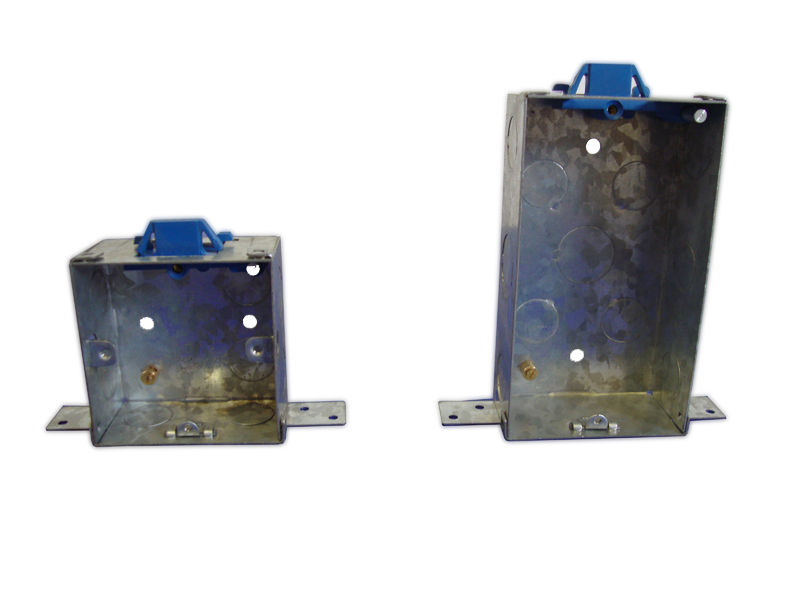 Metal Side Fixing Boxes