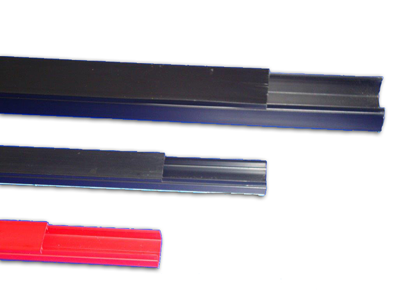 Self Adhesive Trunking Red and Black